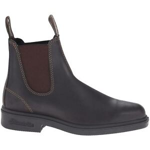 Slip on Chelsea Square Ankle Brown 062 Leather Womens Stout Boots toe Blundstone wq8Xxvzgv