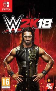 WWE 2K18 (Nintendo Switch, 2017) Brand New - Region Free
