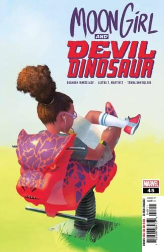 MOON GIRL AND DEVIL DINOSAUR #45 MARVEL COMICS 2019 EB48