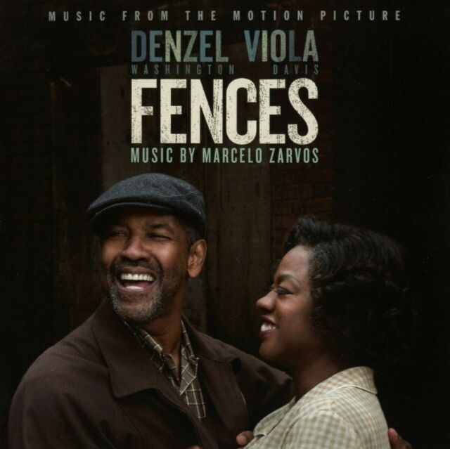 FENCES/OST - MUSIC FROM THE MOTION PICTURE - MUSIC BY:ZARVOS,MARCELO  CD NEUF