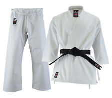 Details about  /Cimac Karate GI Tournament Heavyweight 14oz Karate Suit Adult White Uniform