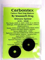 Carbontex Drag Washers Shimano Spinners 3178 10345 Stradic Sustain Baitrunner