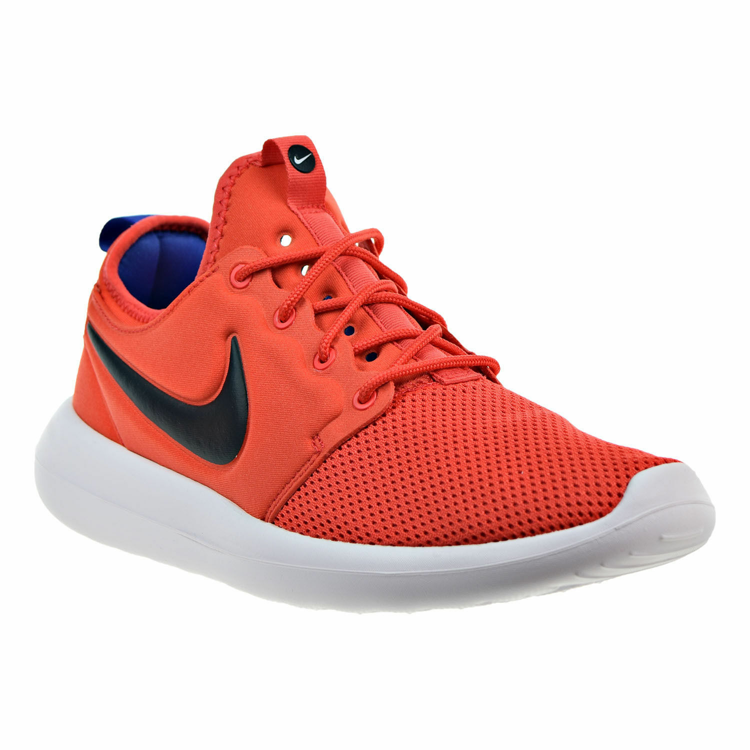 Nike Roshe Two Men's Max orange Deep Night White Black 844656-800 size 11
