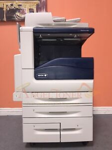 Details about Xerox WorkCentre 7835 Color MFP Laser Printer Scanner Copier  Fax 35 PPM A3