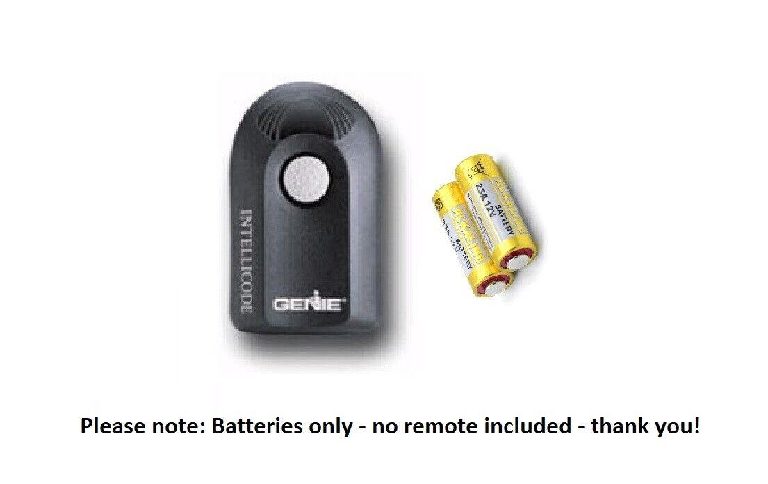 Battery for Genie Intellicode ACSCTG Type 1 garage door opener remote 23A 2