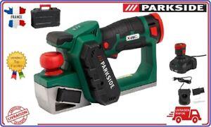 PARKSIDE-Rabot-electrique-sans-fil-PHA-12-A1-12-V-avec-batterie-et-chargeur