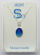 Miraculous Medal Necklace 925 Silver Made in France - Catholic Gift Shop LTD