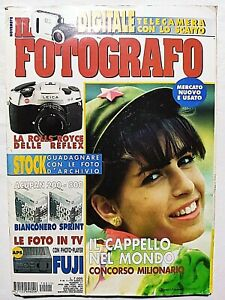 IL FOTOGRAFO NOVEMBRE 1997 LEICA R8 - FUJIFILM AP-1 - MARIO DE BIASI - MINOLTA