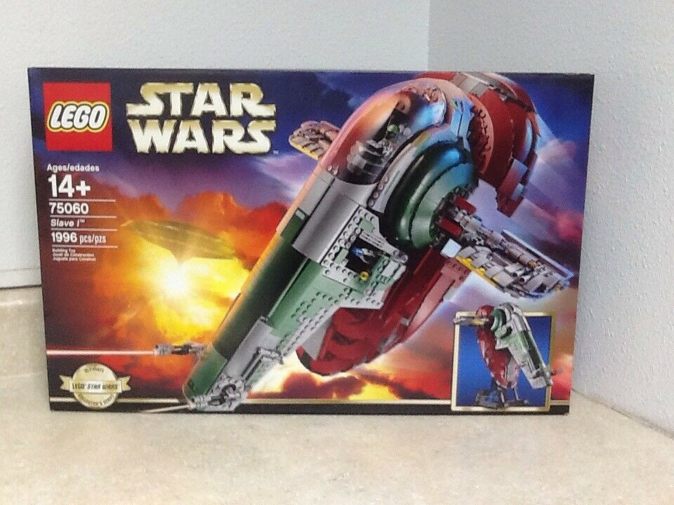 Lego Star Wars 75060 Slave I (Ultimate colectors Series) avec 5 minifigs