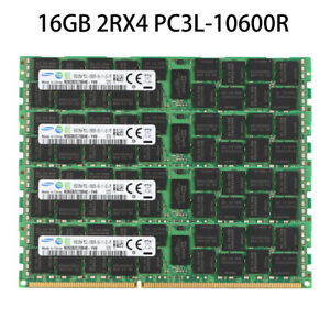 For-Samsung-16GB-2RX4-PC3L-10600R-DDR3L-1333MHZ-ECC-REG-Server-Memory-Module