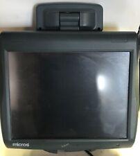 Micros Workstation 5a Touchscreen Pos Terminal 400814 122