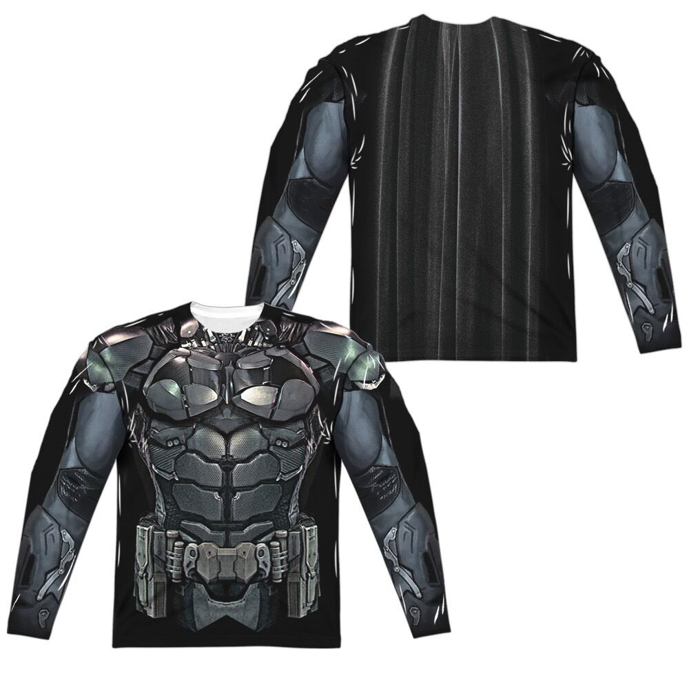 Batman Arkham F/B Knight Uniform Outfit Allover F/B Arkham Sublimation Long Sleeve T-shirt dba58c