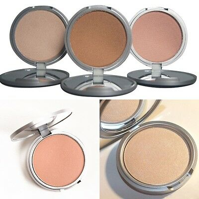 Natural Face Eye Highlight Powder Bronzer Shimmer Beauty Makeup Cosmetic