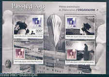 CENTRAL AFRICA  2012 ROSSICA 2013 STAMP ON STAMP BALLOON MOTIF SHEET  MINT NH