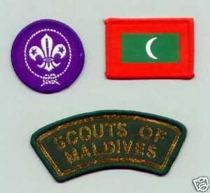 Boy Scout Badges MEMBERSHIP NAT STRIP Macedonia