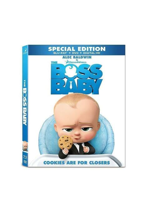 The Boss Baby Blu Ray Dvd 2017 Includes Digital Copy For Sale Online Ebay