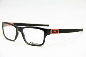 NEW OAKLEY OX8034-0753 BLACK MARSHAL AUTHENTIC EYEGLASSES RX  53-17
