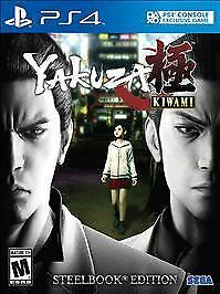 Yakuza Kiwami: SteelBook Edition PS4 Sony No Extras