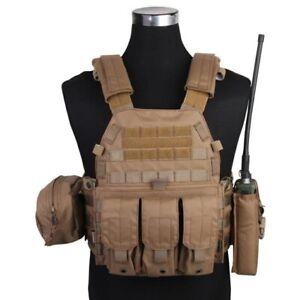 Veste-Tactique-Tactique-Vest-LBT6094A-Style-Coyote-Marron-Emersongear