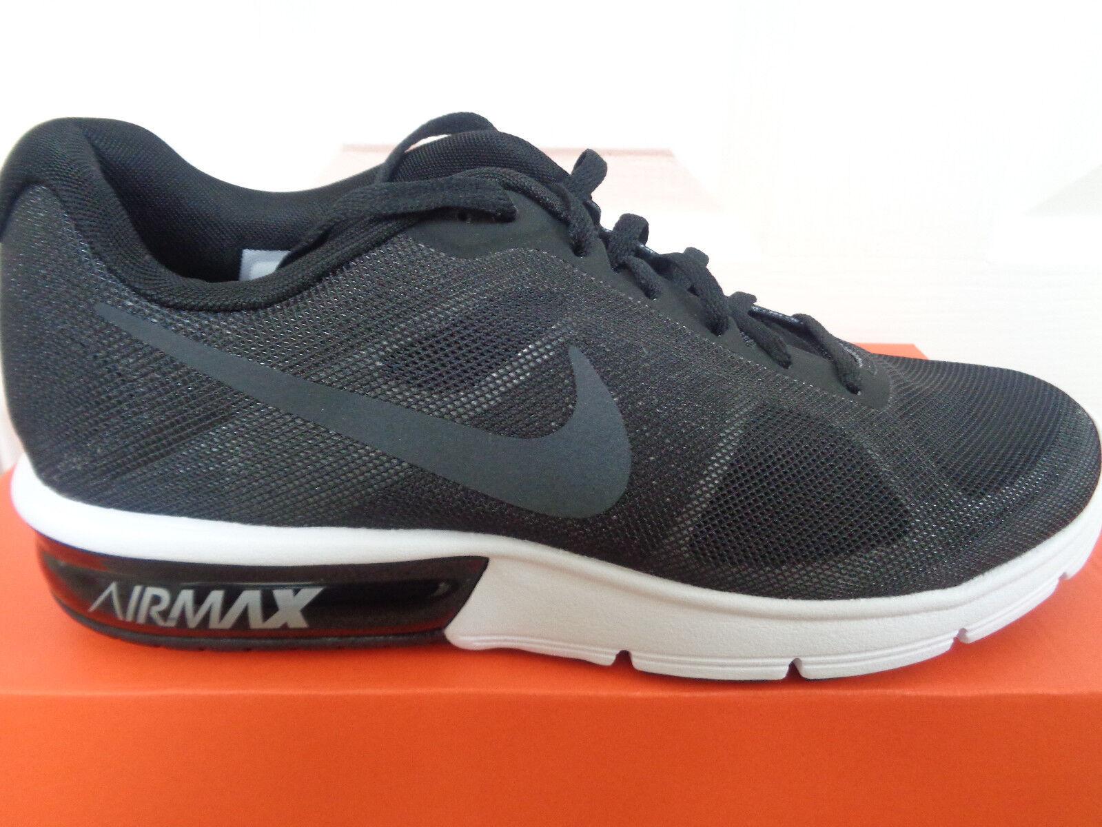 3f8c38024471 Nike Air Max Scarpe Da Ginnastica SEQUENT 719916 008 EU 39 US 8 NUOVO IN  SCATOLA