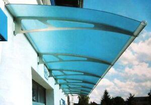 Relativ Schulte Vordach LT-Line XL 2050 Pultbogenvordach Acryl Blau 2050 x OP35