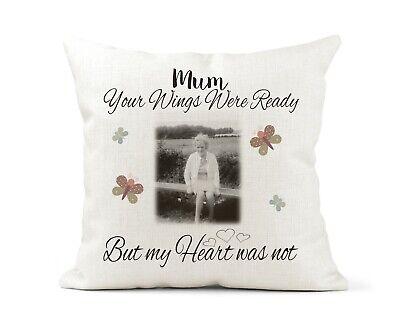 Personalised Wedding Gift Cushion Cover Gift 40 x 40 Mr /& Mrs Keepsake Cream