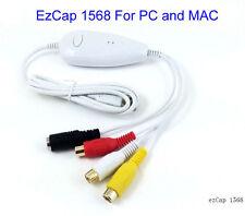 EzCAP 1568 USB 2.0 Video Audio VHS to DVD Converter Capture Card Win10 & MAC OS