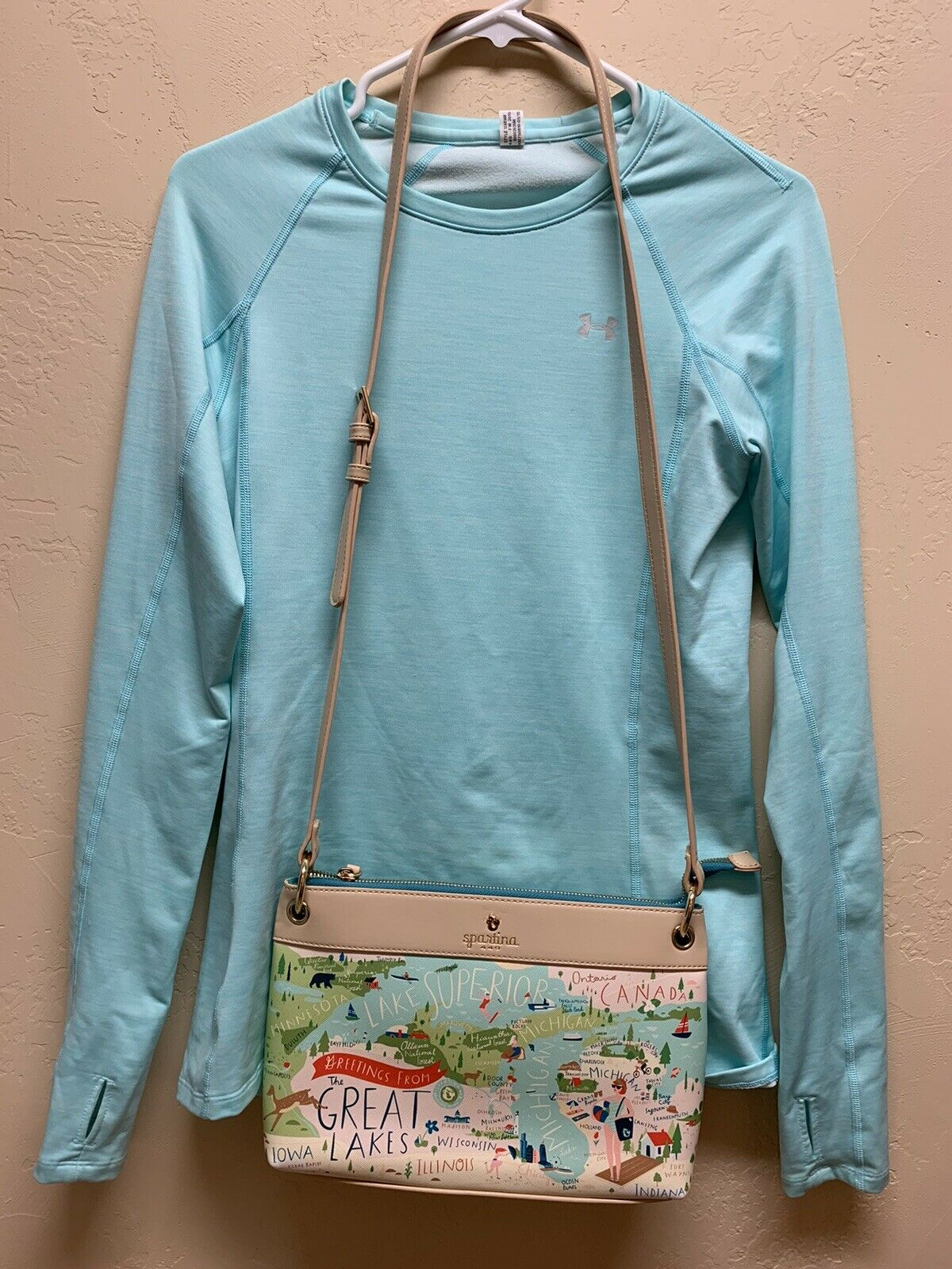 Spartina 449 Women's Great Lakes Crossbody Retails Fast Ship!