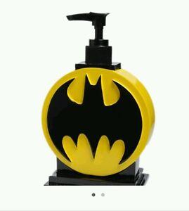 image is loading dc comics batman bathroom soap lotin pump bathroom - Batman Bathroom