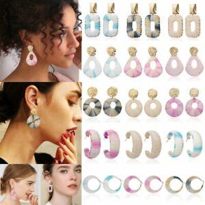 Charm-Handmade-Hollow-Geometric-Earrings-Stud-Dangle-Drop-Women-039-s-Party-Jewelry