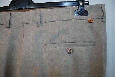 Vintage Farah Pantaloni Beige W 40 L 31 Mod Casual Classic-mostra Il Titolo Originale