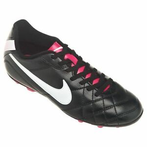 sports shoes 79ff5 03110 Image is loading Nike-Youth-Jr-Tiempo-Rio-FG-R-Soccer-
