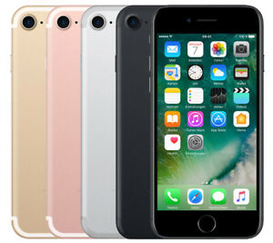 Apple-iPhone7-32-128-256GB-Argento-Nero-Oro-Rosa-Oro-Sbloccato-Smartphone