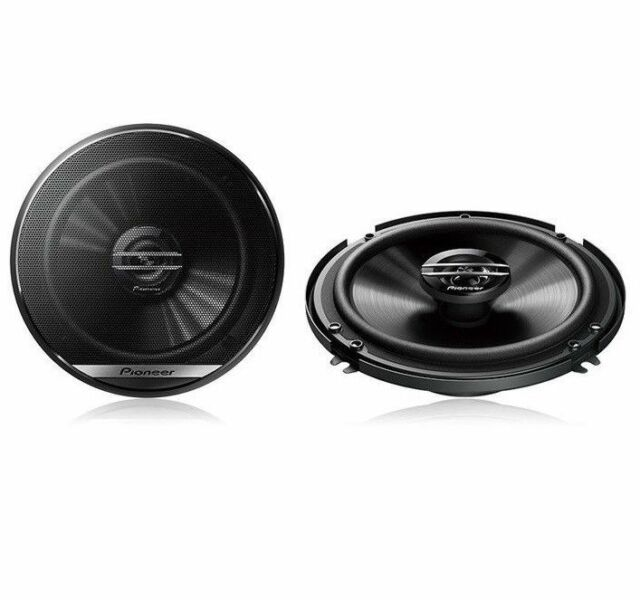 "Pioneer TS-A1680F 6-1//2/"" 4 Way 80W RMS Coaxial Car Speaker Pair"