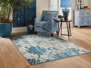 Living Room Rugs 5x7.Details About Modern Area Rugs 8x10 Contemporary Blue Living Room Rug 5x7 Door Mat 2x3 Carpet