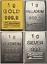 1-Gramm-Barren-Platin-Gold-Silber-Palladium-Geschenk-Wertanlage-Hochzeit Indexbild 1