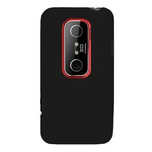 Silicone-Skin-Case-for-HTC-Evo-3D-Black