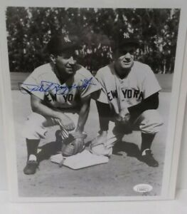 PHIL-RIZZUTO-SIGNED-8x10-PHOTO-w-Jerry-Coleman-NY-New-York-Yankees-JSA