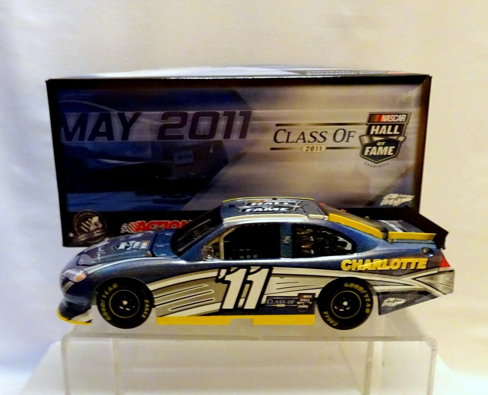 David Pearson Hall of Fame  2011 Flash hommeteau couleur 1 24 Action NASvoiture... (72)  qualité officielle