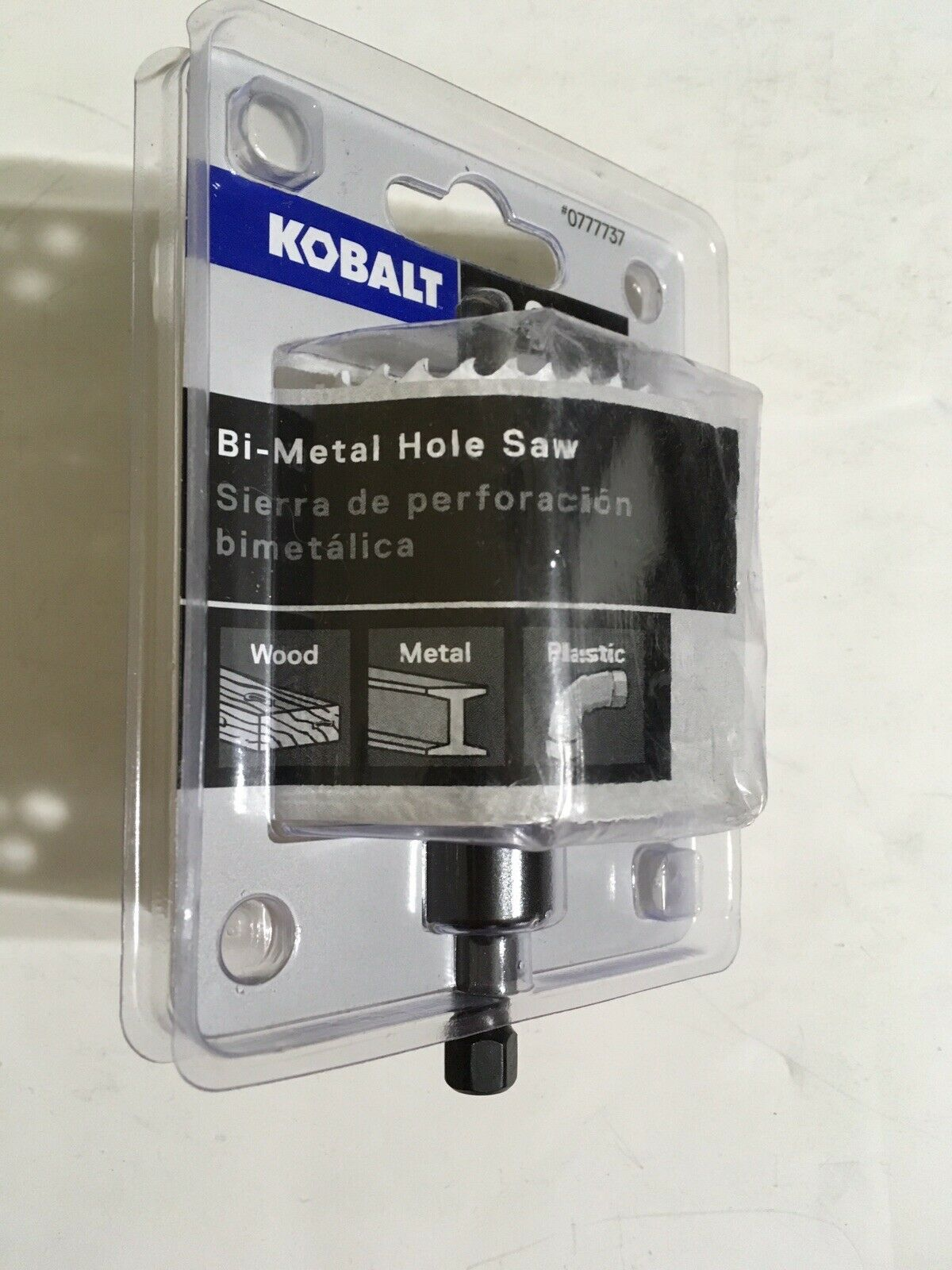 Kobalt 2-in Bi-Metal Arbored Hole Saw #0777737