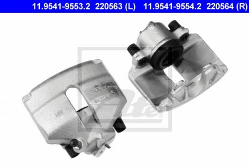Bremssattel für Bremsanlage Vorderachse ATE 11.9541-9553.2