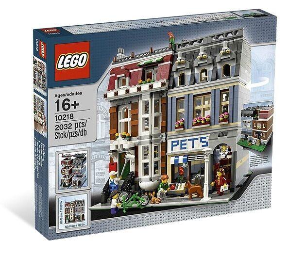 LEGO LEGO LEGO exclusif Créateur Zoohandlung 10218 neuf et emballage d'origine 8e1d2a