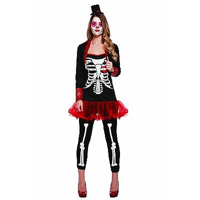 Womens Day Of The Dead Ladies Costume Mexican Halloween Senorita Fancy Dress
