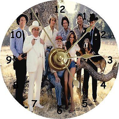 NEW Dukes Of Hazzard Cast CD Clock