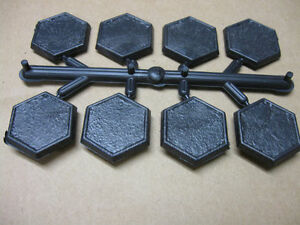 Details about 30mm Hexagon bases for wargaming