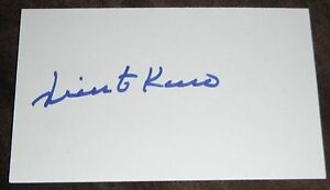 VICENTE ROMO SIGNED AUTO'D INDEX CARD 3X5 DODGERS RED WHITE SOX INDIANS PADRES