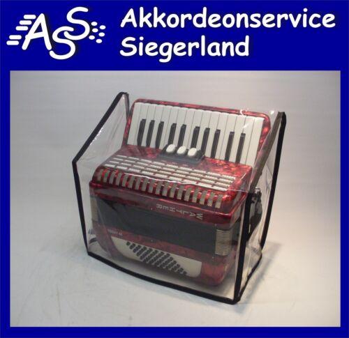 AKKORDEON 48 Bass Steirische Harmonika ABDECKHAUBE Staubschutz f Size S+D