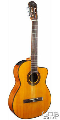 Musical Instruments & Gear Gc3ce-nat Relieving Rheumatism Guitars & Basses Takamine Gc3ce Classical G Series Cutaway Acoustic-electric Guitar