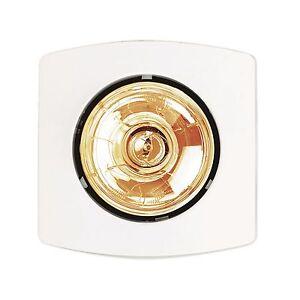 Hpm Bathroom Instant Heat Lamp 275w White Bh1we Ebay