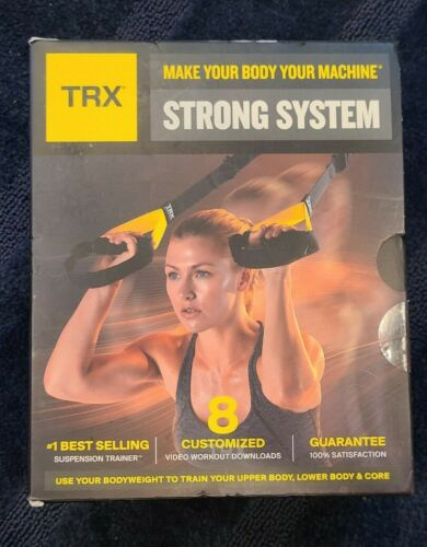 New in Box TRX Make your body a Machine Strong System Suspension Trainer